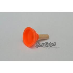 Держатель под телефон - Вантуз (оранжевый)