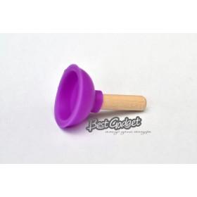 Держатель под телефон - Вантуз (фиолетовый)