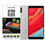 Защитное стекло Happy Mobile 2.5D Full Screen для Xiaomi Redmi S2 (Черное)
