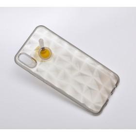 Чехол 3D Diamond Case TPU для Huawei P Smart Plus (Nova3i) (Gray)