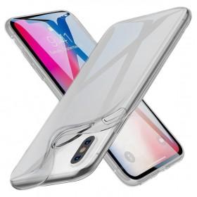 Ультра тонкий чехол HOCO Light Series для iPhone Xs Max (Slim Прозрачный | Черный)