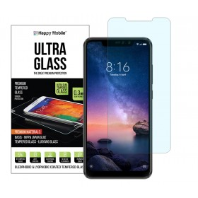 Защитное стекло Happy Mobile Ultra Glass Premium 0.3mm,2.5D (Japan Toyo Glue) для Xiaomi Redmi Note 6 (Pro)
