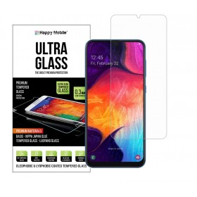 Защитное стекло Samsung Galaxy A20 (A30/A30s/A50/A50s/M30/M30s) - Happy Mobile Ultra Glass Premium 0.26mm,2.5D (Japan Toyo Glue)
