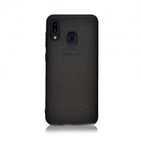 Чехол-накладка Plexus Case Samsung Galaxy A50 (Черный)