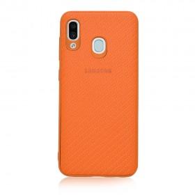 Чехол-накладка Plexus Case Samsung Galaxy A50 (Оранжевый)
