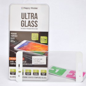 Защитное стекло для Huawei Honor 9 (Белое) - Happy Mobile 2.5D Full Screen