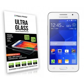 Защитное стекло Happy Mobile Ultra Glass Premium 0.3mm,2.5D для Samsung Galaxy Core2 Duos G355H