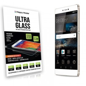 Защитное стекло Happy Mobile Ultra Glass Premium 0.3mm,2.5D (Japan Toyo Glue) для Huawei P8