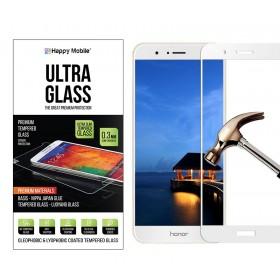 Защитное стекло Happy Mobile 2.5D Full Screen для Huawei Honor V9 (Белое)