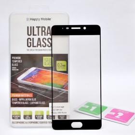 Защитное стекло Happy Mobile 2.5D Full Screen для Meizu M6 Note (Черное)
