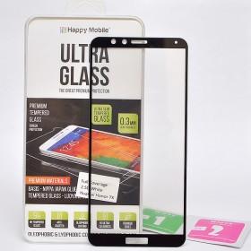 Защитное стекло Happy Mobile 2.5D Full Screen для Huawei Honor 7X (Черное)