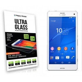 Защитное стекло Happy Mobile Ultra Glass Premium 0.3mm,2.5D для Sony Xperia Z3 mini Compact