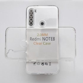 Защитный чехол Anti-Drop 2mm Series, TPU для Xiaomi Redmi Note 8T (Clear)