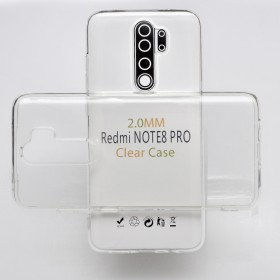 Защитный чехол Anti-Drop 2mm Series, TPU для Xiaomi Redmi Note 8 Pro (Clear)