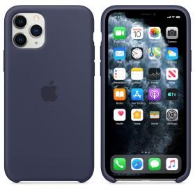 Чехол Silicone Case для iPhone 11 Pro (Midnight Blue) (OEM)