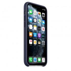Чехол Silicone Case для iPhone 11 (Midnight Blue) (OEM)