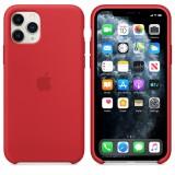 Оригинальный чехол Apple Silicone Case для iPhone 11 Pro Max (Red) (OEM)