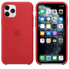 Чехол Silicone Case для iPhone 11 Pro Max (Red) (OEM)