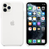 Оригинальный чехол Apple Silicone Case для iPhone 11 Pro Max (White) (OEM)