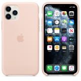 Оригинальный чехол Apple Silicone Case для iPhone 11 Pro Max (Pink Sand) (OEM)