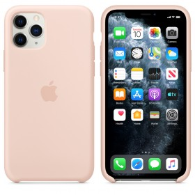 Чехол Silicone Case для iPhone 11 Pro Max (Pink Sand) (OEM)