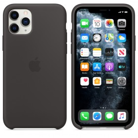 Чехол Silicone Case для iPhone 11 Pro (Black) (OEM)