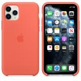 Оригинальный чехол Apple Silicone Case для iPhone 11 Pro Max (Orange) (OEM)