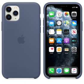 Чехол Silicone Case для iPhone 11 Pro Max (Alaska Blue) (OEM)
