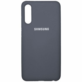 Чехол Silicone Cover FULL for Samsung Galaxy A50 / A50s / A30s (Original Soft Case Lavander grey)
