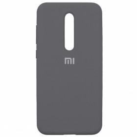 Чехол Silicone Cover FULL for Xiaomi Mi 9T / Pro / K20 (Original Soft (Lavander Gray)
