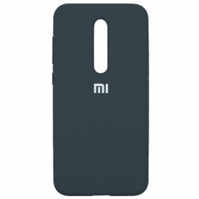 Чехол Silicone Cover FULL for Xiaomi Mi 9T / Pro / K20 (Original Soft Case Navy Blue)