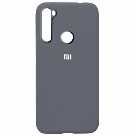 Чехол Silicone Cover FULL for Xiaomi Redmi Note 8 (Original Soft Lavander Gray)