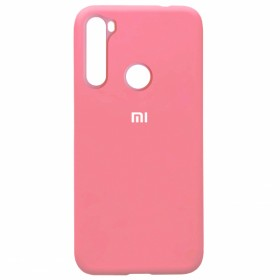 Чехол Silicone Cover FULL for Xiaomi Redmi Note 8 (Original Soft Pink)