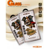 Защитное стекло 3D moXom для iPhone X / Xs / 11 Pro (Black)