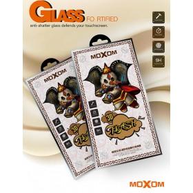 Защитное стекло для iPhone Xs Max / 11 Pro Max 3D moXom (Black)