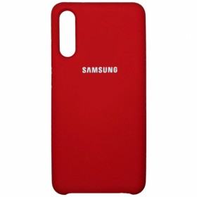Чехол Silicone Cover for Samsung Galaxy A30S (A307) / A50 (A505) (Original Soft Red)