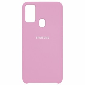 Чехол Silicone Cover for Samsung Galaxy M30s (M307) (Original Soft Light Pink)