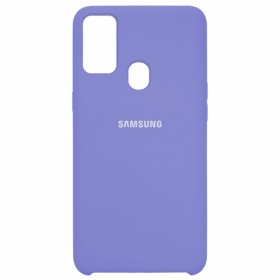 Чехол Silicone Cover for Samsung Galaxy M30s (M307) (Original Soft Lilac)