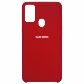 Чехол Silicone Cover for Samsung Galaxy M30s (M307) (Original Soft Red)