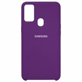 Чехол Silicone Cover for Samsung Galaxy M30s (M307) (Original Soft Violet)