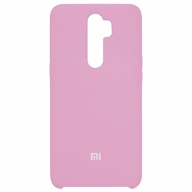 Чехол Silicone Cover for Xiaomi Redmi Note 8 Pro (Original Soft Light Pink)