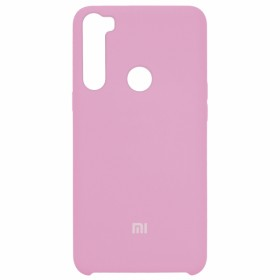 Чехол Silicone Cover for Xiaomi Redmi Note 8 (Original Soft Pink Light Pink)
