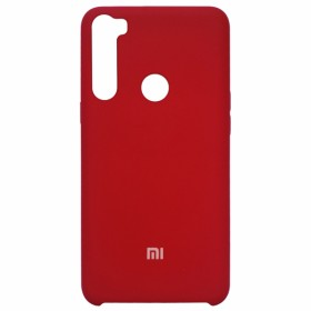 Чехол Silicone Cover for Xiaomi Redmi Note 8 (Original Soft Red)