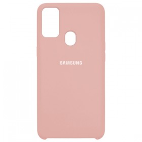 Чехол Silicone Cover for Samsung Galaxy M30s (M307) (Original Soft Pink Sand)