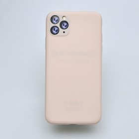 Чехол-накладка Simple Slim Matte Camera Protection для iPhone 11 Pro (Pink)