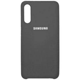 Чехол Silicone Cover for Samsung Galaxy A30S (A307) / A50 (A505) (Original Soft Grey)