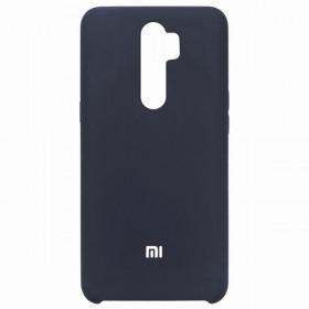 Чехол Silicone Cover for Xiaomi Redmi Note 8 Pro (Original Soft Midnight Blue)