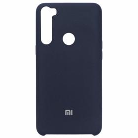 Чехол Silicone Cover for Xiaomi Redmi Note 8 (Original Soft Midnight Blue)