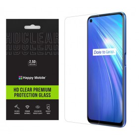 Защитное стекло Realme 6 - Happy Mobile Ultra Glass Premium 0.26mm,2.5D (Japan Toyo Glue)