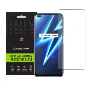 Защитное стекло для Realme 6 Pro - Happy Mobile Ultra Glass Premium 0.26mm,2.5D (Japan Toyo Glue)